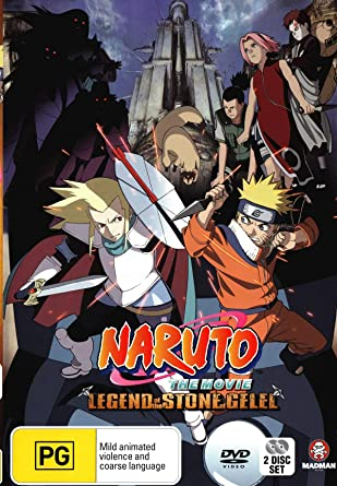 Amazon.com: Naruto The Movie 2 - Legend of the Stone of ...