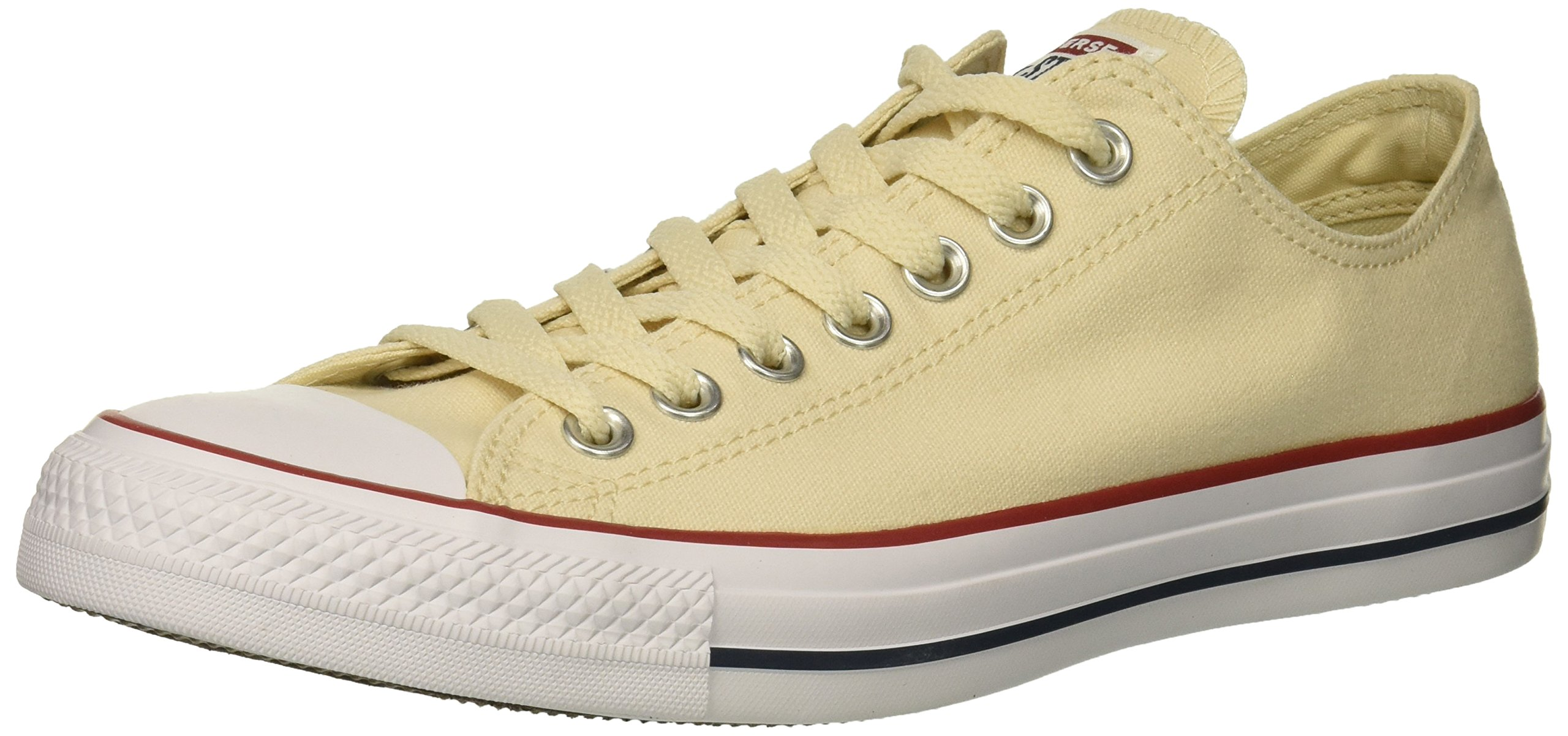 Converse Chuck Taylor All Star Low Top Sneaker, Natural Ivory, 7.5 M US