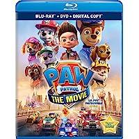 PAW Patrol: The Movie - Blu-ray + DVD + Digital
