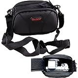 Camera Case Bag Pouch Bag For Panasonic LUMIX DMC GM1 GM5 GX1 GX7 GX8 GX80 GF6 LZ20 LX7 TZ-70 57 LX100 FZ62;Fuji X-A1 X-A2 X-E2 X-E1 X100S X20 XF1 X100T X30;CANON PowerShot G3X G7X G15 G16 G1X G5X G7X G9X EOS M SX500IS SX400IS SX420IS SX170IS XS700HS SX720HS SX610HS SX600HS SX540HS SX530HS SX710HS SX610HS SX720HS;Pentax GR MX-1 Q10 K-01 Q / Ricoh GXR