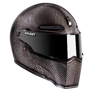 Casco de moto Alien II, de la marca Bandit, gris oscuro, M(