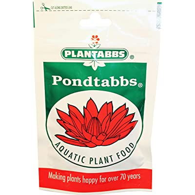PLANTABBS PRODUCTS 0171 Pondtabbs Aquatic Plant Food - 20 Count : Garden & Outdoor