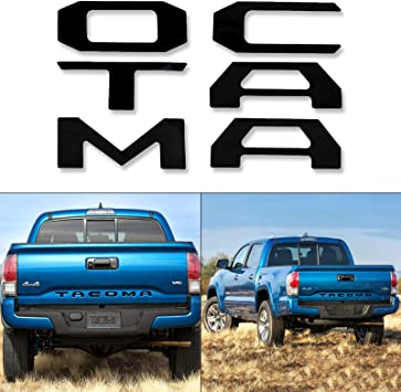 2016-2019 TOYOTA TACOMA VINYL LETTERING DECALS STICKERS GRAPHICS