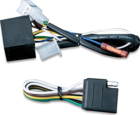 Kuryakyn 7675 Motorcycle Accessory: 5 to 4 Wire Converter with 4-Pin on