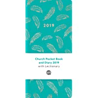 Church Pocket Book and Diary 2019: Teal Feathers