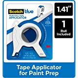 ScotchBlue Painter's Tape Applicator, Blue, with 1 Starter Roll 1.41 in. x 20 yd.