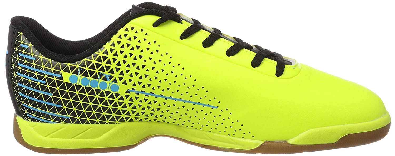 Diadora Herren 7-Tri Id Futsalschuhe, Gelb (Giallo FL Blu FL Nero), 40.5 EU