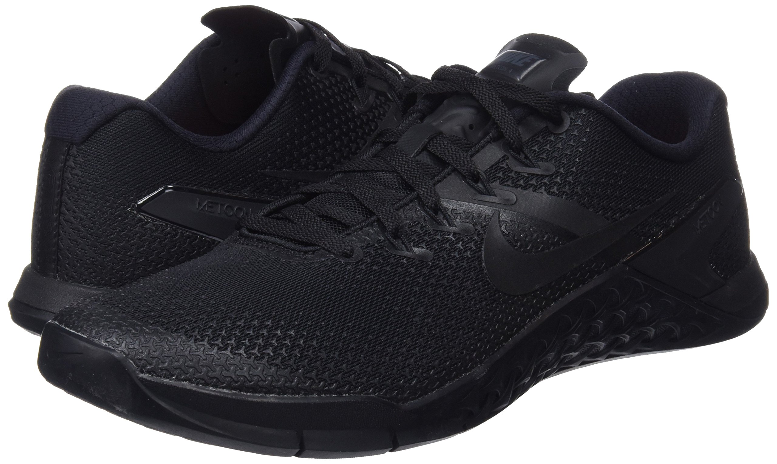 Nike Men's Metcon 4 Training Shoe Black/Black-Black-Hyper Crimson 7.5 by Nike (Image #5)