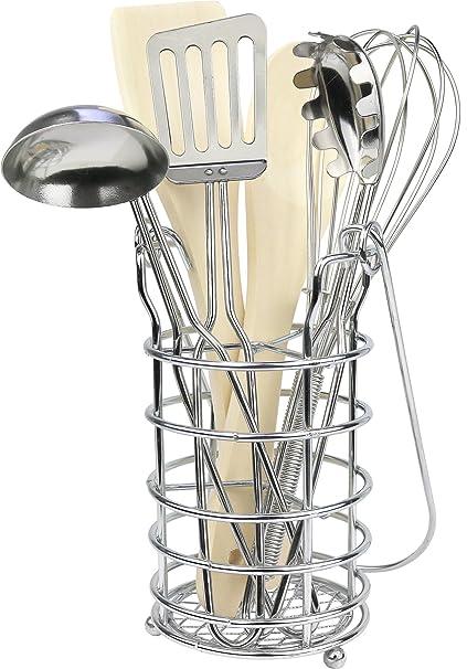 Amazon.com: Haga clic N Play 7 piezas Juego de utensilios de ...