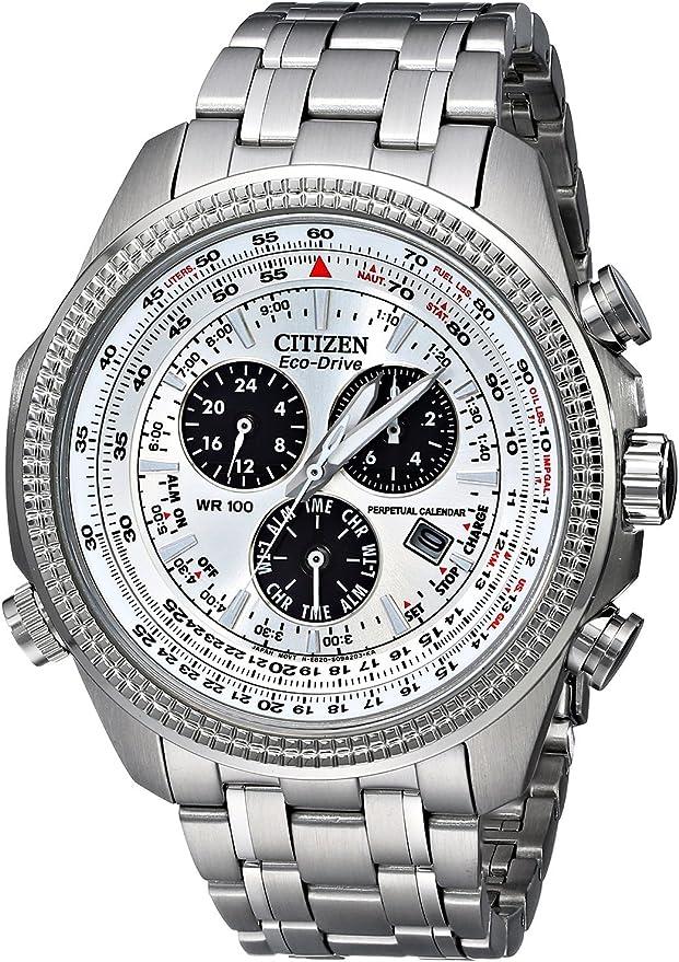 CITIZEN(シチズン) 腕時計 エコドライブ クロノ パーペチュアルカレンダー BL5400-52A メンズ [逆輸入品]