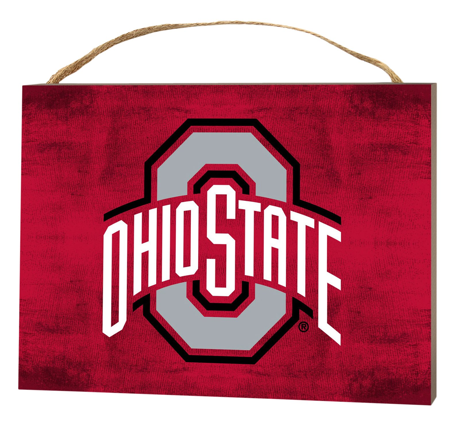 KH Sports Fan 4''X5.5'' Ohio State Buckeyes Colored Logo Small College Plaque