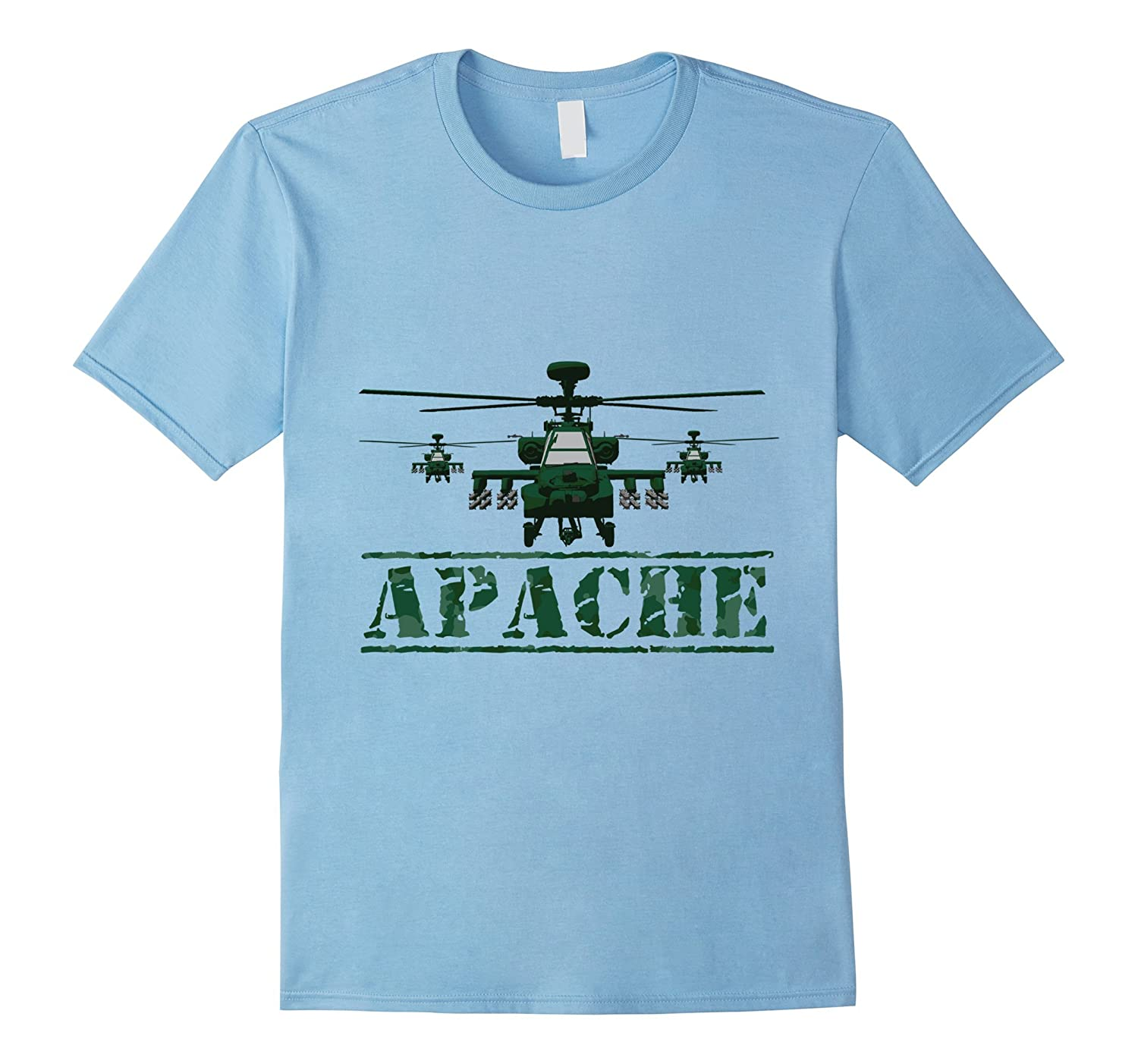 AH 64 Apache Tshirt great gift idea for military aviator