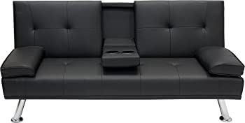 Best Choice Products Modern Entertainment Futon Sofa