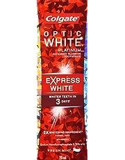 Colgate Optic White Platinum Express White Whitening Toothpaste, 70 mL