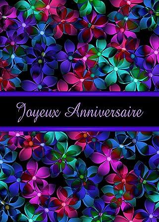 Amazon.com: Francés Feliz cumpleaños (diseño con texto en ...