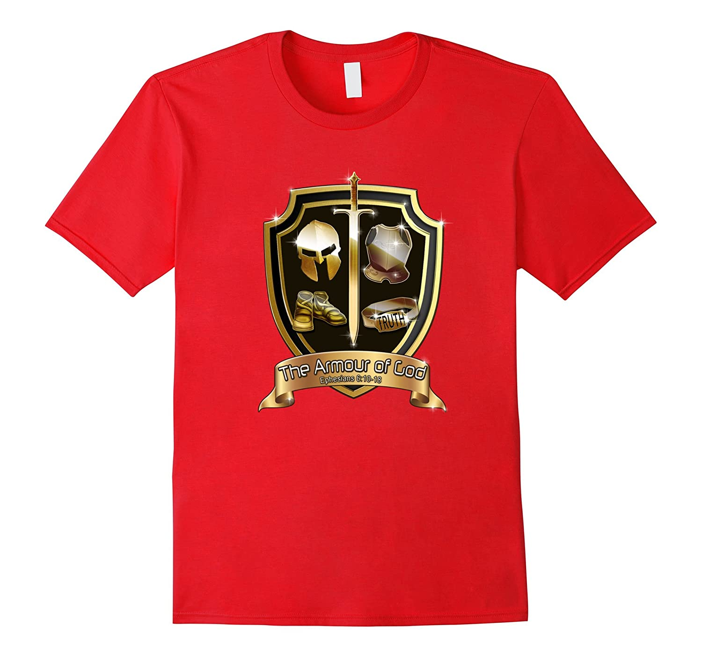 Armor of God Christian Gospel Bible Verse Tee Shirt