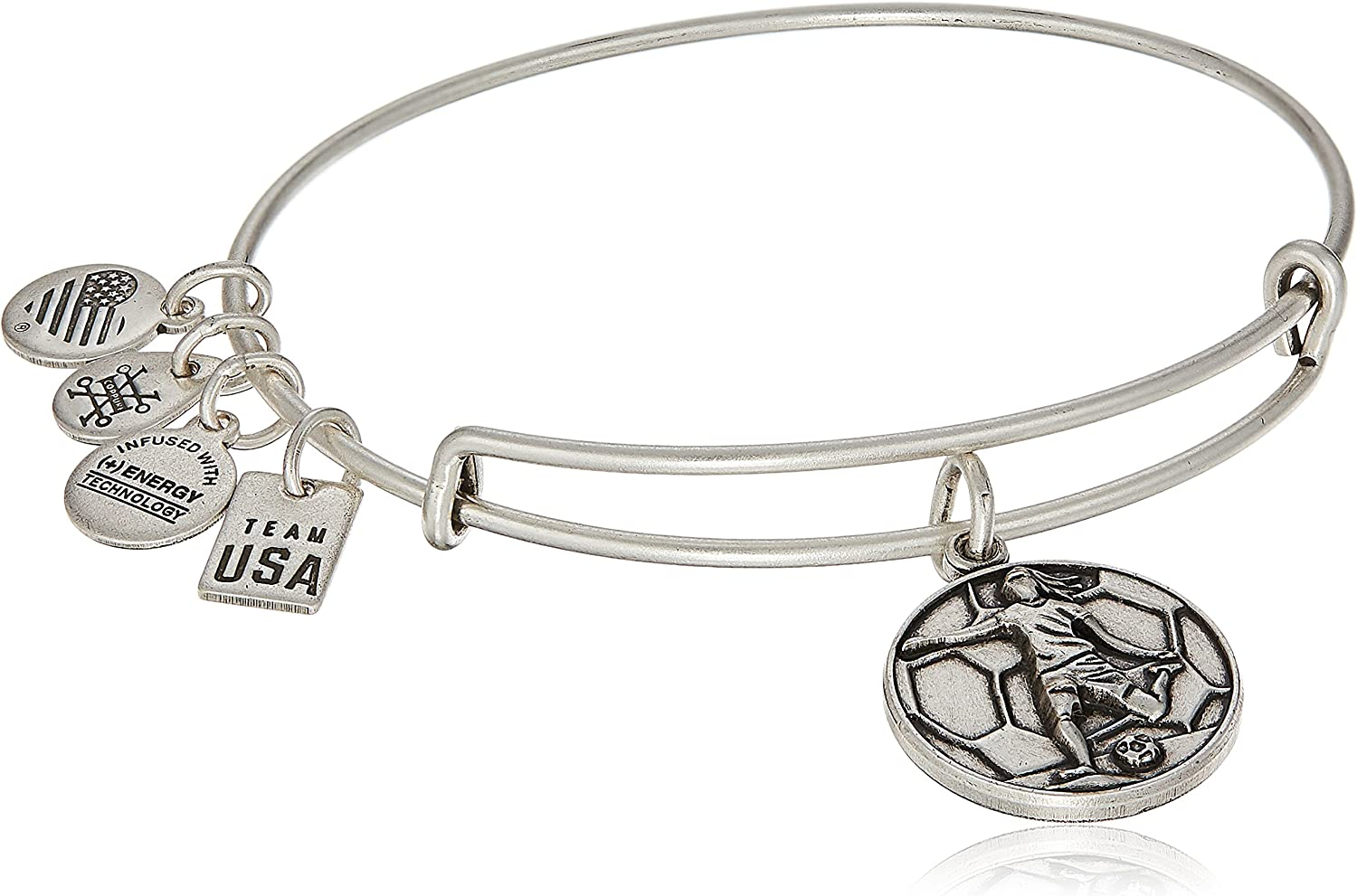 Alex Ani USOC Soccer II Bangle