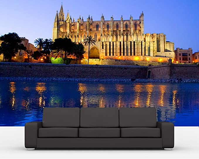 Bilderdepot24 Autoadhesivo Fotomural Cathedral of Palma de ...