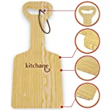 BBQ Wood Grill Scraper – Grill Grate Wooden Cleaner Eco-friendly – Effective Top Between the Grates Cleaning – Ideal as Charcoal Electric Porcelain Grill Scraper – Suitable for All Grills