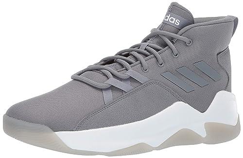 new arrival 9a4b1 dfdd9 adidas Men s Streetfire, Grey White, 6.5 M US