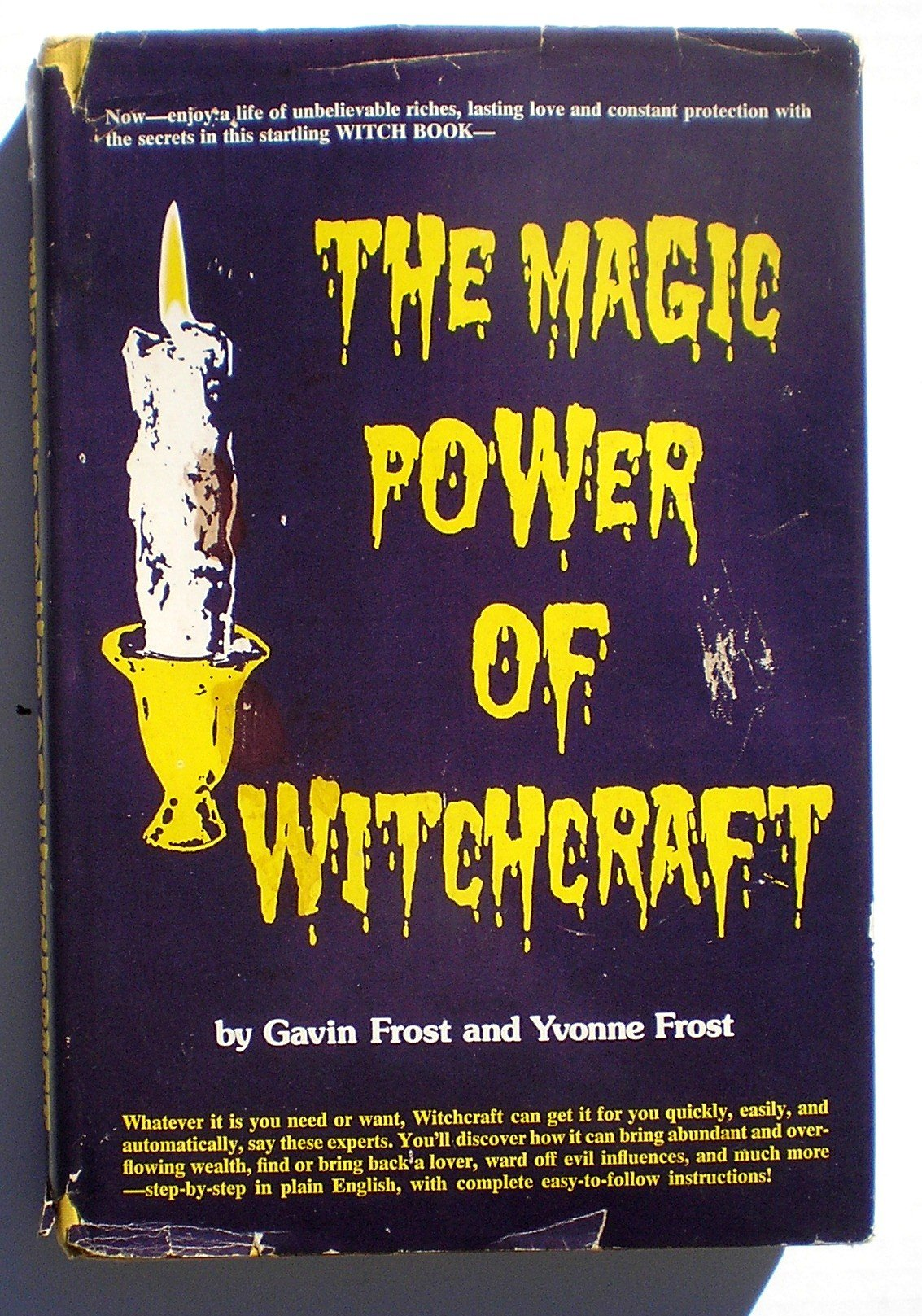 Amazon The Magic Power Of Witchcraft 9780135453766 Gavin