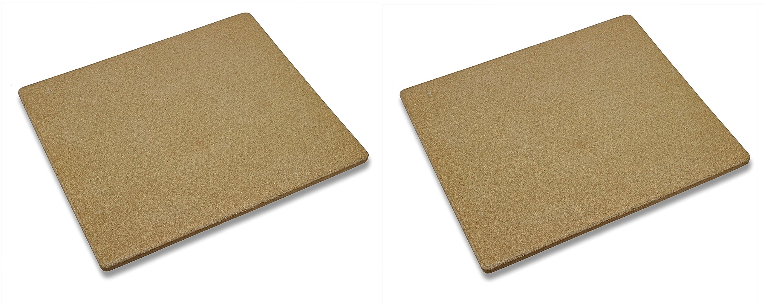 Old Stone Oven Rectangular Pizza Stone (Pack of 2)