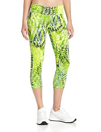 5f4c73863ab9c Calvin Klein Performance Women's Rainforest Print Capri at Amazon ...