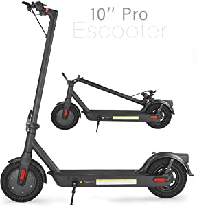 XPRIT 10'' Electric Scooter Premium Version, 10Ah Long-Range Battery, 350W Motor, LED Dashboard