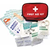 First Aid Kit Deluxe Medical Pouch Emergency Home Work Travel Holiday Car Clay:Roberts Kit with Bag