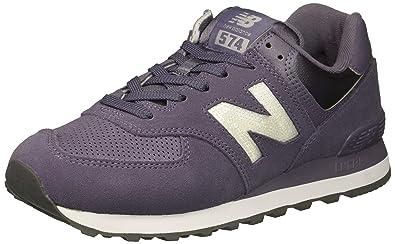 pretty nice 739f9 12980 New Balance Womens 574 Core Sneaker, deep Cosmic Sky/Marblehead, 9 B US
