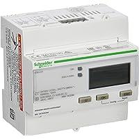 Schneider A9MEM3255 energimätare, 3-fas, 5A, utökad mätfunktion, modbus, 1E/1A, MID-kompatibel, vit