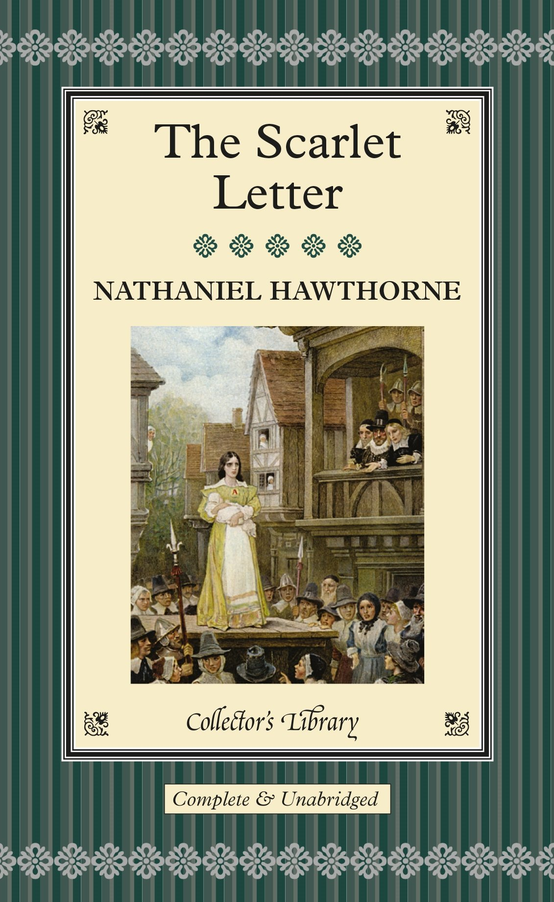 scarlet letter collectors library nathaniel hawthorne 9781904633129 amazoncom books