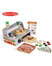 Melissa & Doug Top & Bake Pizza Counter Role Play Food