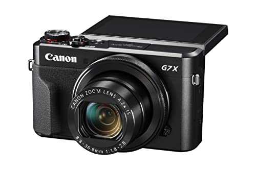 Canon PowerShot G7 X Mark II (Black)