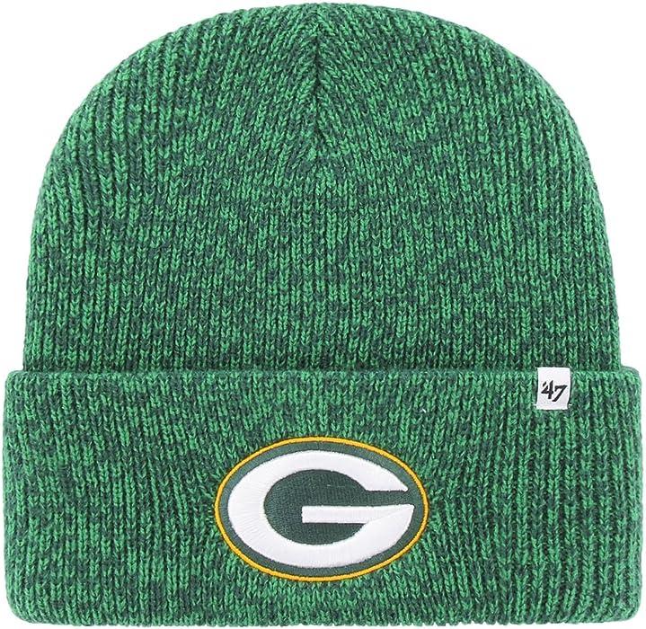 b16a16c3284 Amazon.com  Forty Seven Brand NFL Brain Freeze Knit Hat  Clothing