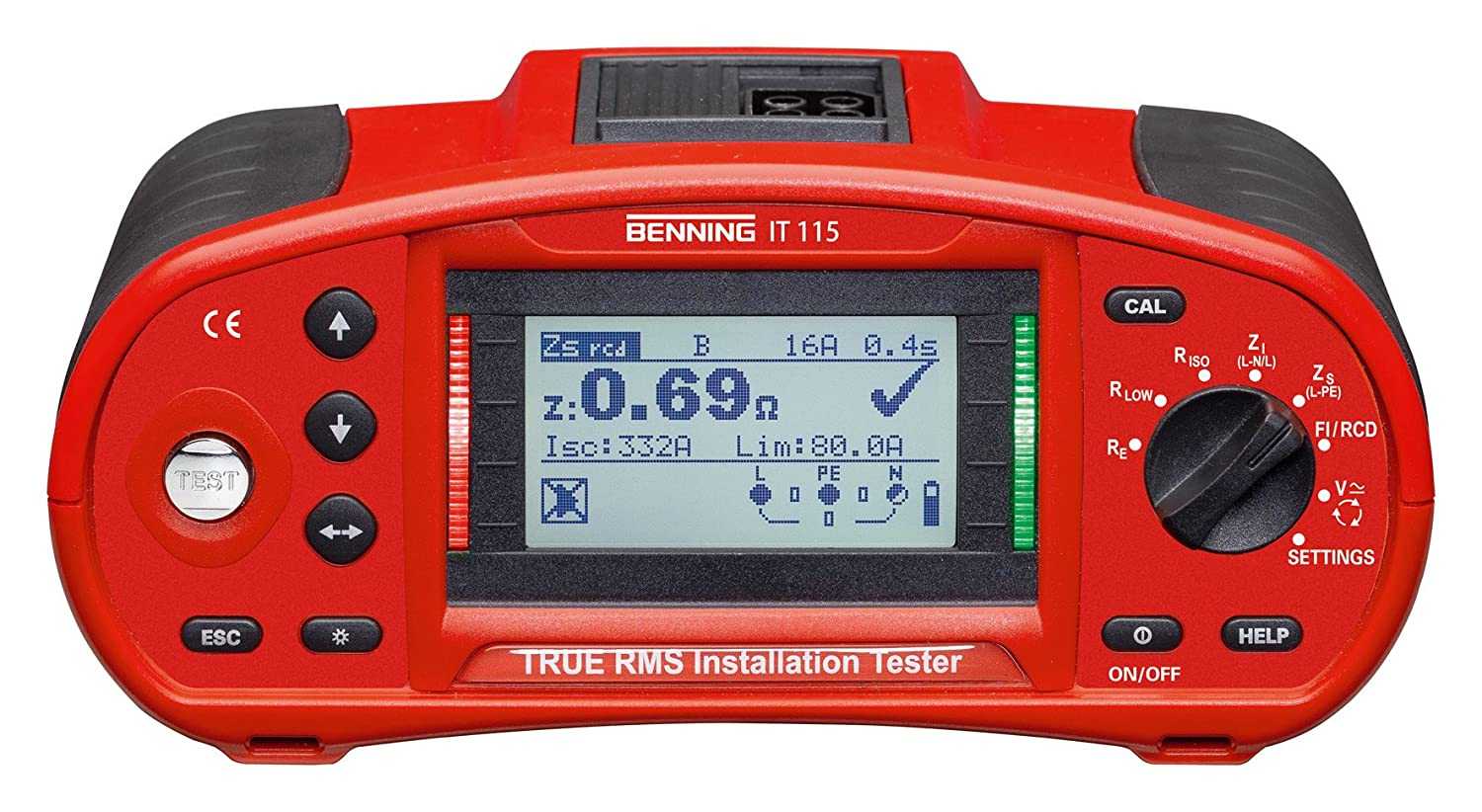 Benning It 115 True Rms Installation Tester 044104 Business Industry Science
