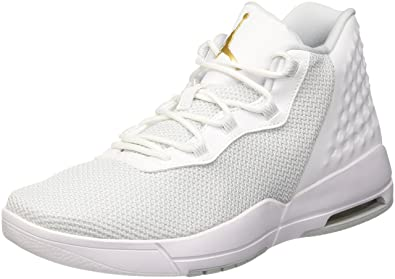 4d59fe74150503 Image Unavailable. Image not available for. Color  NIKE Jordan Academy Men  US 10 White Basketball Shoe