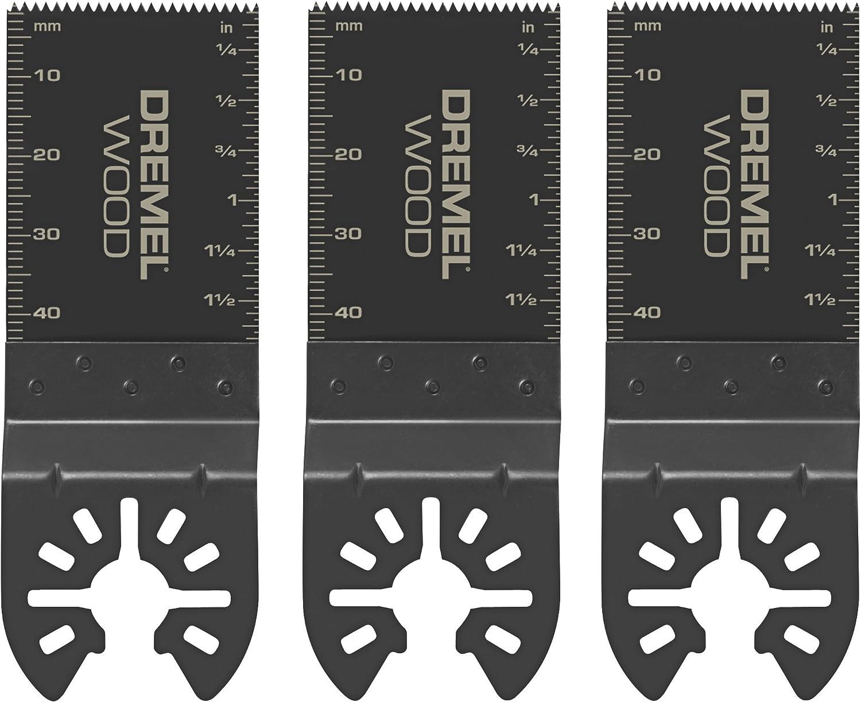 Dremel MM480B Wood Flush Cut Blades, 3-Pack - Circular Saw Blades -