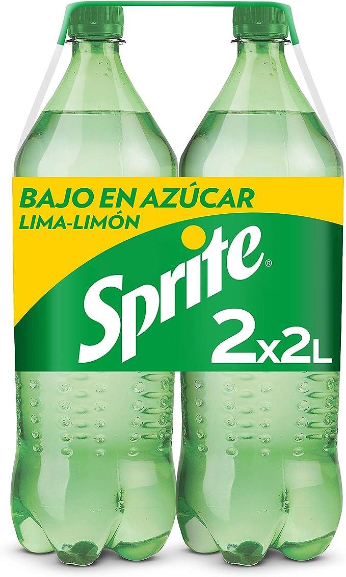 Sprite Lima-Limón Botella - 2 l (Pack de 2): Amazon.es: Alimentación y bebidas