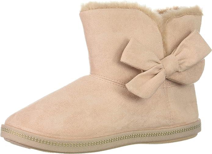 Skechers 女士蝴蝶结雪地靴