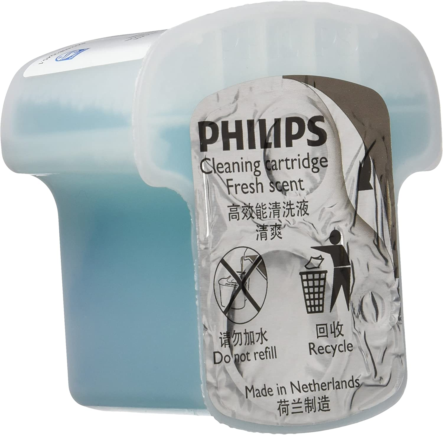 Philips Cleaning cartridge series 9000 1 pack Clean JC301