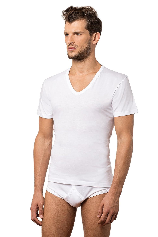 Fragi set 3 pezzi Maglietta A Collo V AMERICA, intimo uomo, underwear