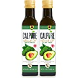 CalPure California Extra Virgin Avocado Oil - First Cold-Pressed, Unrefined, Made in California, Pack of 2