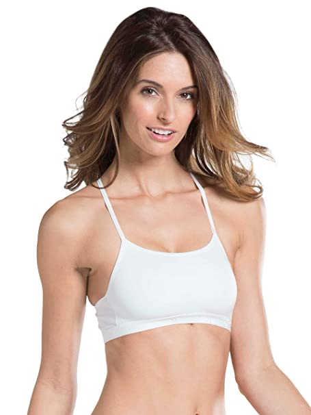 Jockey Women's Cotton Crop Top Everyday Bras at amazon