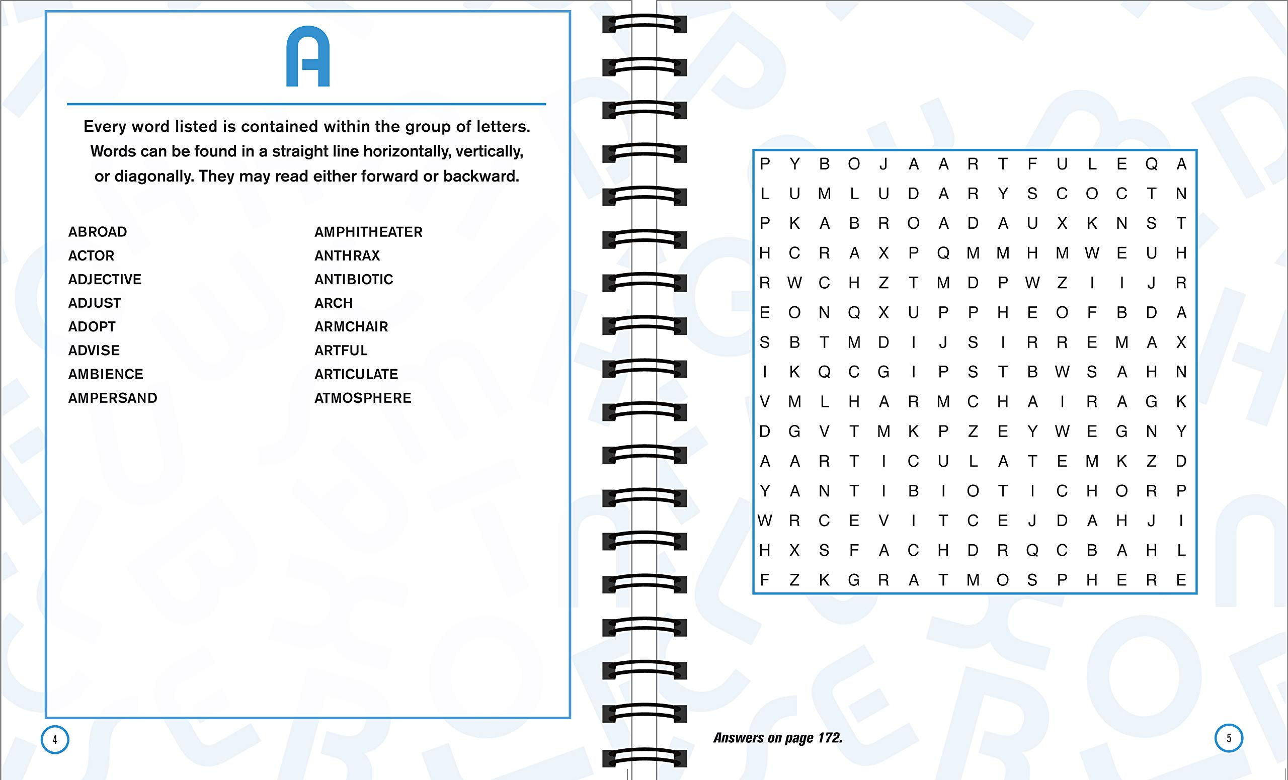 Brain Games - A to Z Word Search: Publications International Ltd