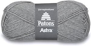 Patons Astra Yarn, 1.75 oz, Silver Gray Mix