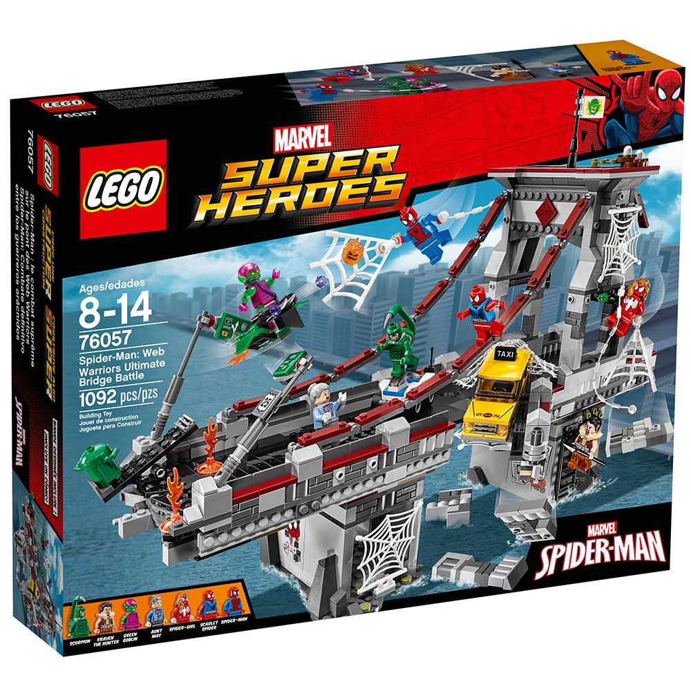 LEGO Marvel Super Heroes Spider-Man: Web Warriors Ultimate Bridge