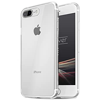 Urcover® Apple iPhone 7 Plus | Funda Carcasa Protectora 360 Grados | TPU en Transparente | Protección Completa Case Cover Smartphone Móvil Accesorio