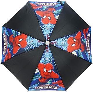 Ombrello per bambini, motivo uomo ragno colori fluorescenti