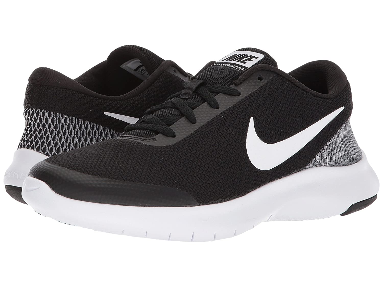 [NIKE(ナイキ)] レディーステニスシューズスニーカー靴 Flex Experience RN 7 Black/White/White 8.5 (25.5cm) D - Wide B07FB71C7S